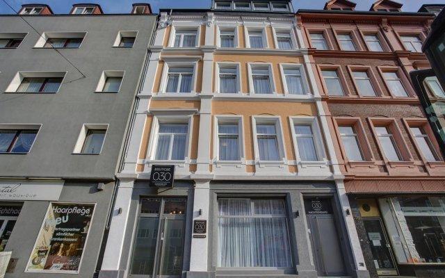 Отель Boutique 030 Hannover-City вид на фасад