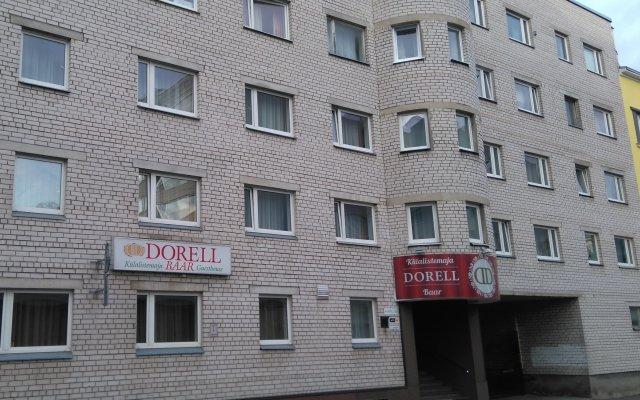 Гостиница DORELL Таллин вид на фасад