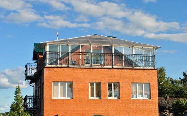 Гостиница Любовь вид на фасад