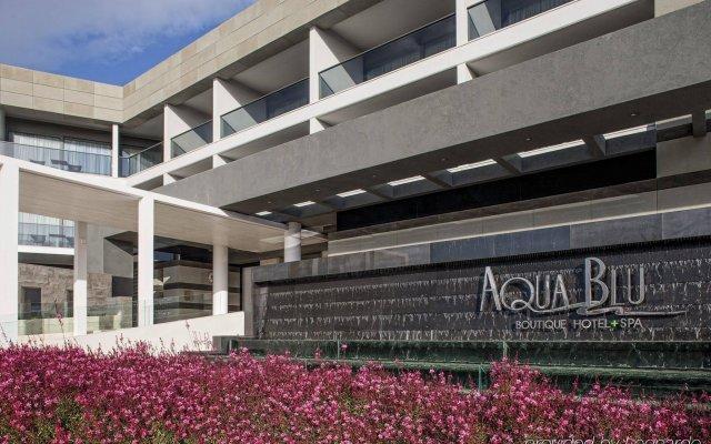 Отель Aqua Blu Boutique Hotel & Spa - Adults Only Греция, Мастичари - отзывы, цены и фото номеров - забронировать отель Aqua Blu Boutique Hotel & Spa - Adults Only онлайн вид на фасад