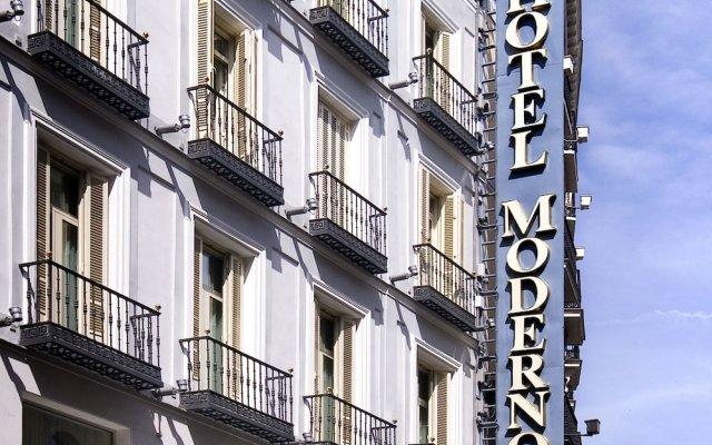 Hotel Moderno вид на фасад