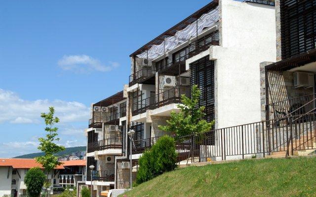 Отель Dolce Vita Aparthotel вид на фасад