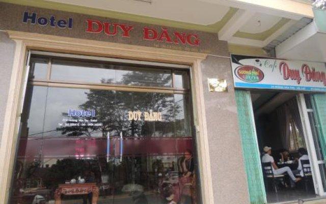 Duy Dang Hotel Далат вид на фасад