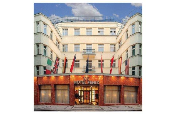 Отель K+K Fenix Прага вид на фасад