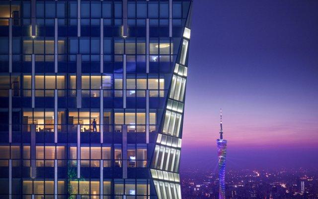 Отель Park Hyatt Guangzhou вид на фасад