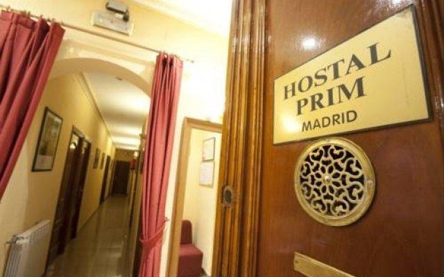 Отель Hostal Prim вид на фасад
