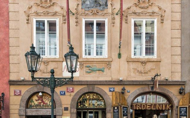 Hotel Residence Bijou de Prague вид на фасад
