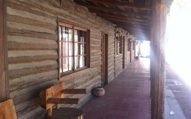 Отель Cusarare River Sierra Lodge вид на фасад