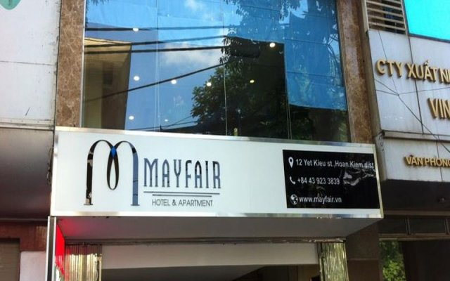 Mayfair Hotel & Apartment Hanoi вид на фасад