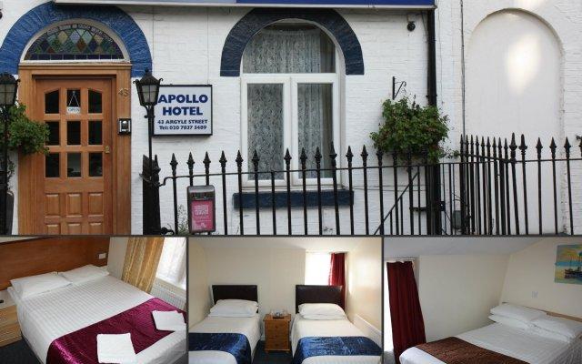 Отель Apollo Kings Cross Лондон вид на фасад