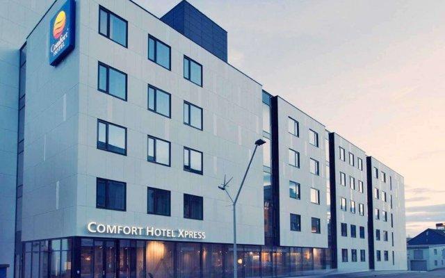 Comfort Hotel Xpress Tromso вид на фасад