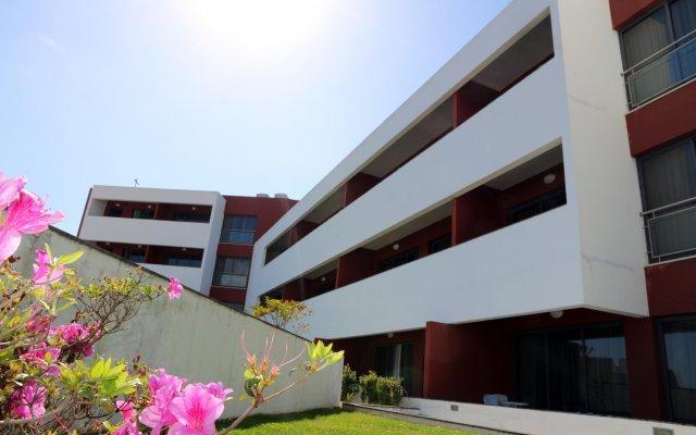 Отель Aparthotel Antillia Понта-Делгада вид на фасад