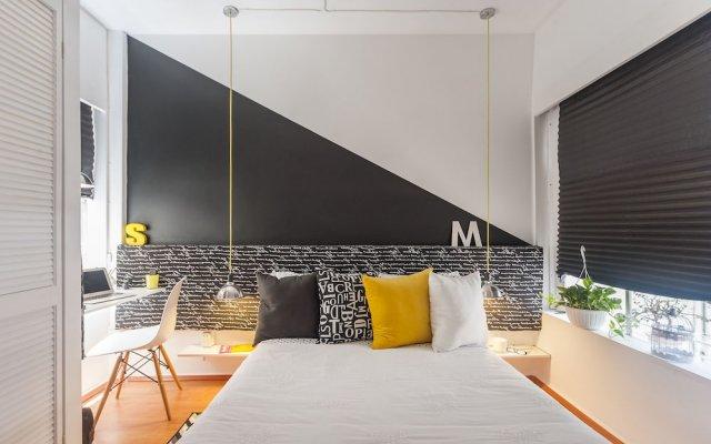 Отель Black & White Apartment Мексика, Мехико - отзывы, цены и фото номеров - забронировать отель Black & White Apartment онлайн вид на фасад