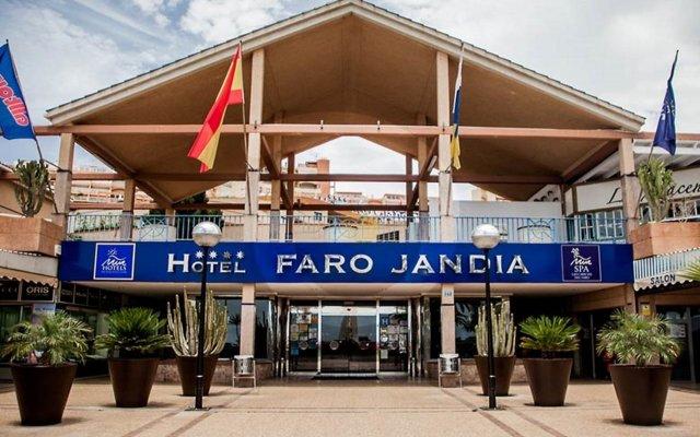 Отель MUR Hotel Faro Jandía Испания, Морро Жабле - отзывы, цены и фото номеров - забронировать отель MUR Hotel Faro Jandía онлайн вид на фасад