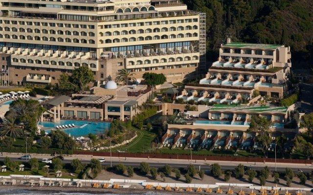 Отель Rhodes Bay Hotel & Spa Греция, Родос - отзывы, цены и фото номеров - забронировать отель Rhodes Bay Hotel & Spa онлайн вид на фасад
