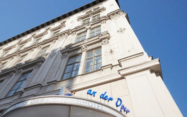 Отель Living Hotel an der Oper Австрия, Вена - 1 отзыв об отеле, цены и фото номеров - забронировать отель Living Hotel an der Oper онлайн вид на фасад
