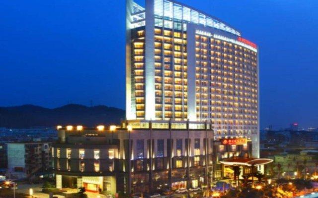 Отель Peony International Hotel Китай, Сямынь - отзывы, цены и фото номеров - забронировать отель Peony International Hotel онлайн вид на фасад