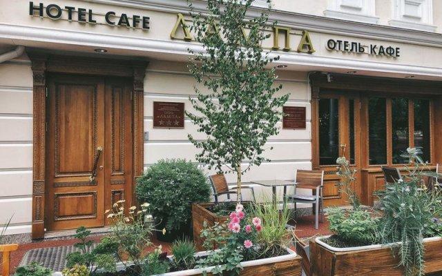 Гостиница Лампа вид на фасад