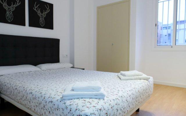 Отель Apartamentos BCN Port Барселона комната для гостей