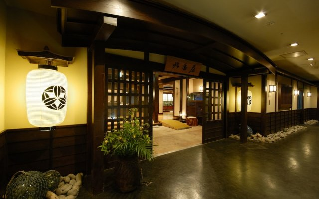 Отель Sounkyo Choyotei Камикава вид на фасад