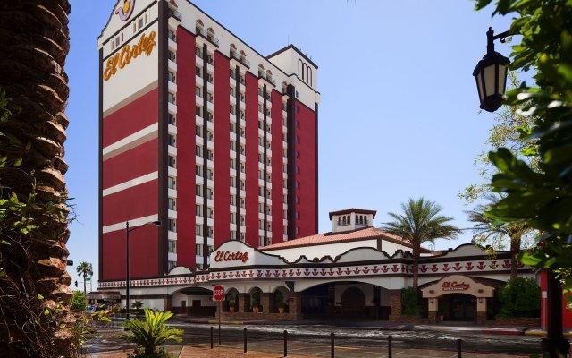 Отель El Cortez Hotel and Casino США, Лас-Вегас - 1 отзыв об отеле, цены и фото номеров - забронировать отель El Cortez Hotel and Casino онлайн вид на фасад