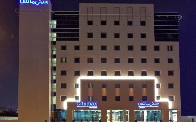 Citymax Hotel Bur Dubai вид на фасад