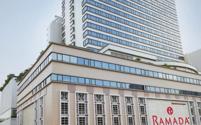 Отель Ramada D'MA Bangkok вид на фасад