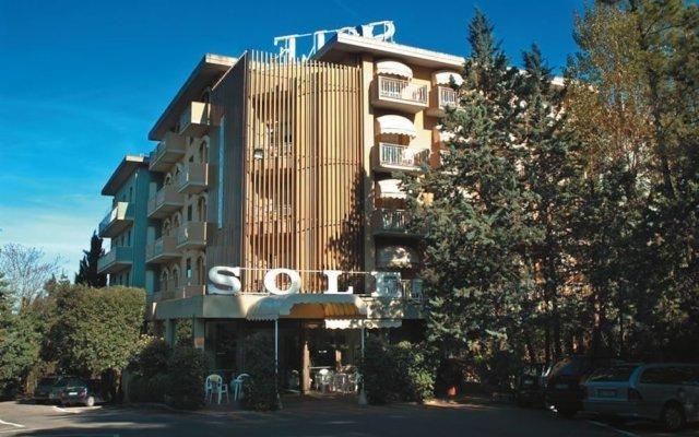Hotel Sole & Esperia Кьянчиано Терме вид на фасад