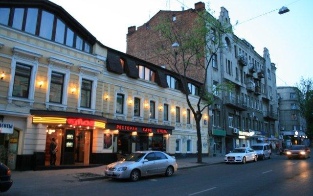 Гостиница Blues вид на фасад