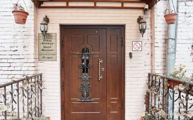 Мини-отель Бонжур Казакова вид на фасад