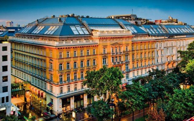 Grand Hotel Wien вид на фасад