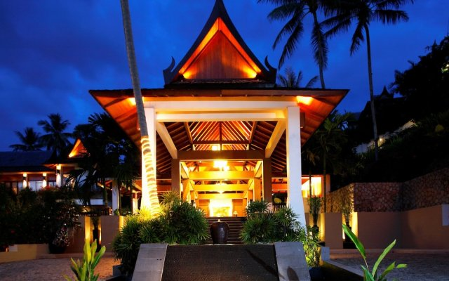 Отель Ayara Hilltops Boutique Resort And Spa Пхукет вид на фасад