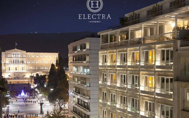 Electra Hotel Athens Афины вид на фасад