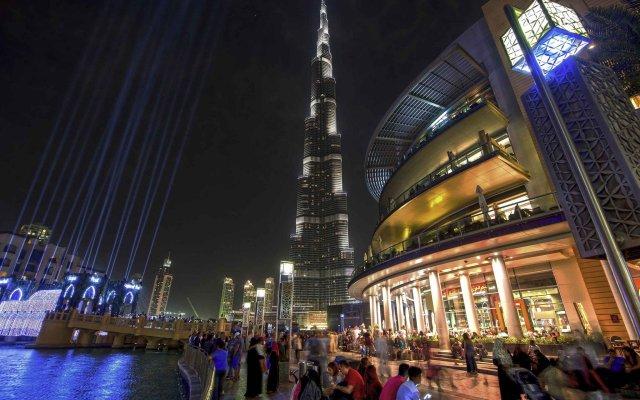 Отель Novotel Suites Mall of the Emirates вид на фасад
