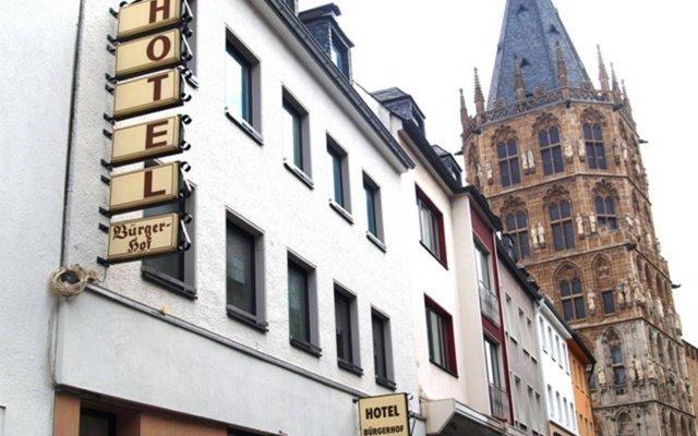 Отель Bürgerhofhotel вид на фасад
