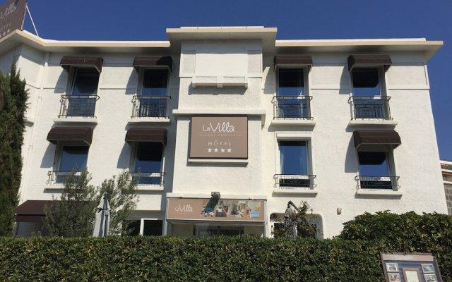 Отель Hôtel La Villa Cannes Croisette Франция, Канны - отзывы, цены и фото номеров - забронировать отель Hôtel La Villa Cannes Croisette онлайн вид на фасад