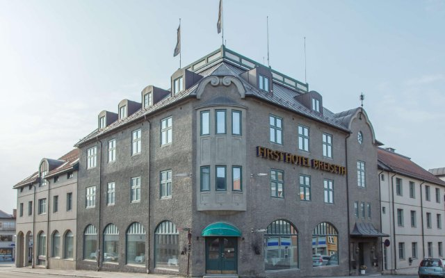 Отель First Hotel Breiseth Норвегия, Лиллехаммер - отзывы, цены и фото номеров - забронировать отель First Hotel Breiseth онлайн вид на фасад