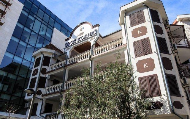 Отель Villa Dvor Kornic Черногория, Будва - отзывы, цены и фото номеров - забронировать отель Villa Dvor Kornic онлайн вид на фасад