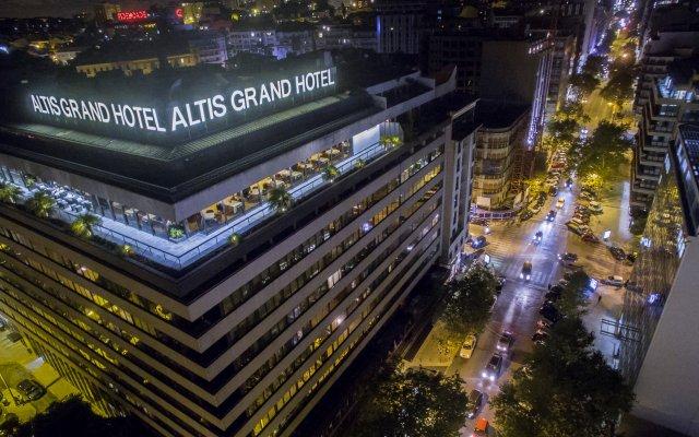 Отель Altis Grand Hotel Португалия, Лиссабон - отзывы, цены и фото номеров - забронировать отель Altis Grand Hotel онлайн вид на фасад