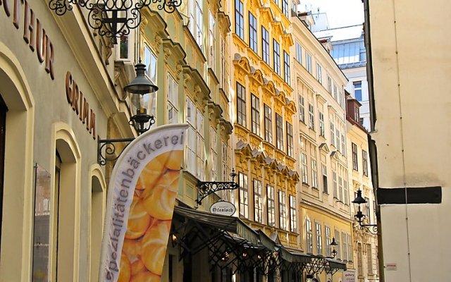 Отель Judenplatz Вена вид на фасад