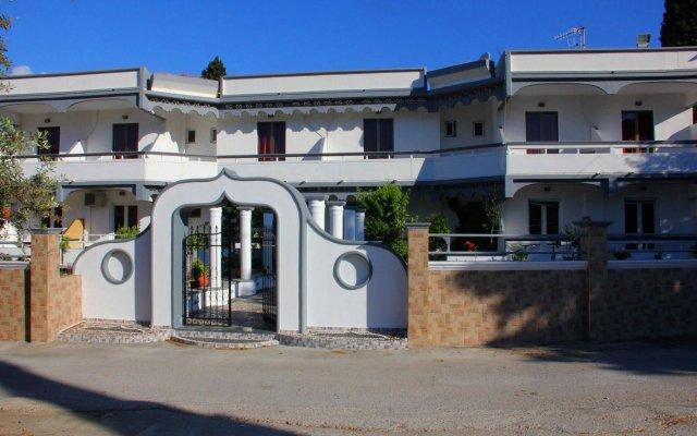 Hotel Dimitra Sun вид на фасад