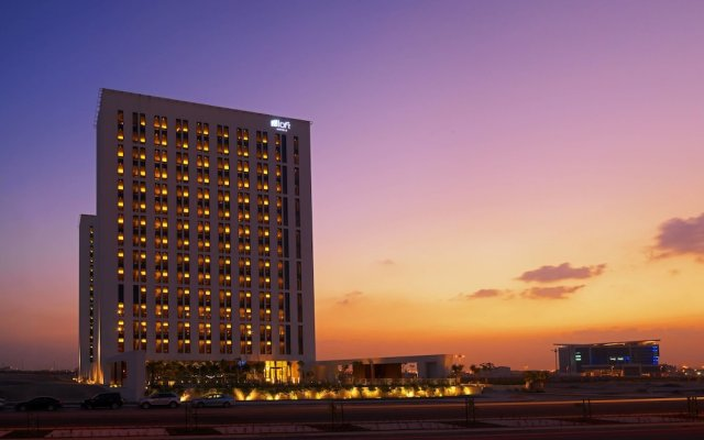 Отель Aloft Me'aisam, Dubai вид на фасад