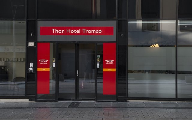 Thon Hotel Tromsø вид на фасад