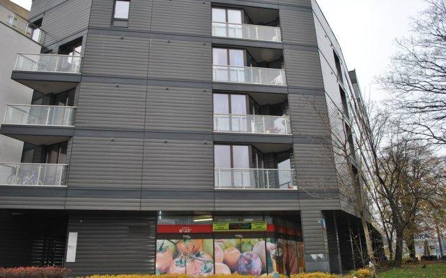 Отель Werset Comfort Польша, Варшава - отзывы, цены и фото номеров - забронировать отель Werset Comfort онлайн вид на фасад