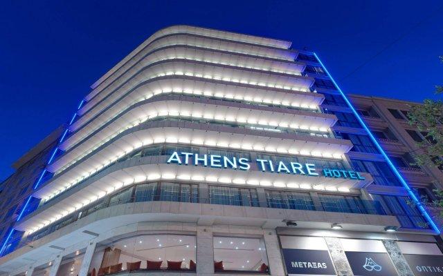 Отель Athens Tiare Hotel Греция, Афины - 1 отзыв об отеле, цены и фото номеров - забронировать отель Athens Tiare Hotel онлайн вид на фасад