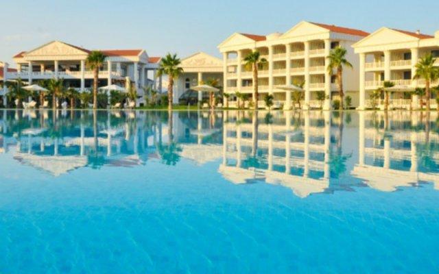 Отель The Kumul Deluxe Resort & Spa Сиде вид на фасад