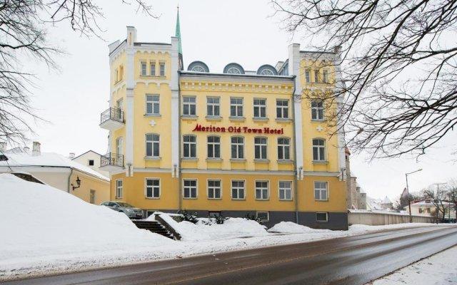 Rija Old Town Hotel Таллин вид на фасад