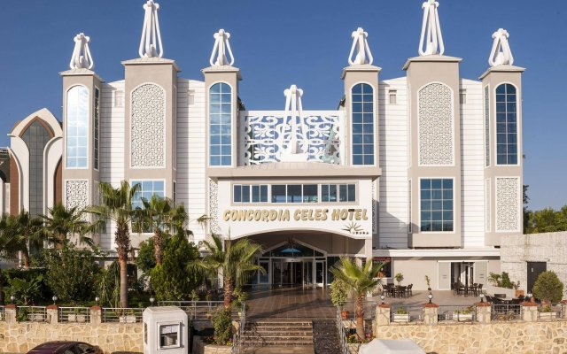 Concordia Celes Hotel - Ultra All Inclusive Турция, Окурджалар - отзывы, цены и фото номеров - забронировать отель Concordia Celes Hotel - Ultra All Inclusive онлайн вид на фасад