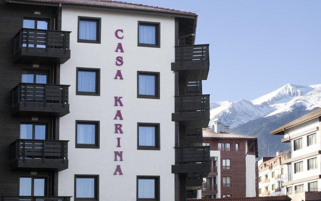 Отель Апарт-Отель Casa Karina Болгария, Банско - отзывы, цены и фото номеров - забронировать отель Апарт-Отель Casa Karina онлайн вид на фасад
