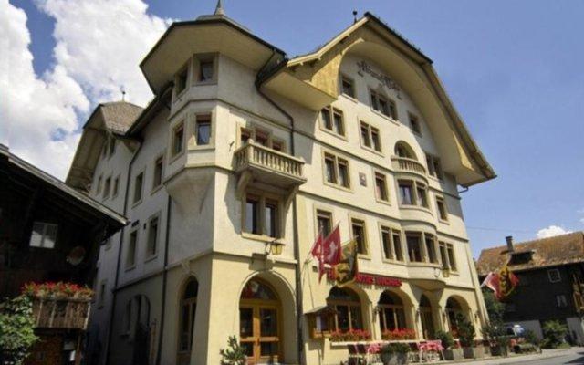 Отель Landhaus Швейцария, Занен - отзывы, цены и фото номеров - забронировать отель Landhaus онлайн вид на фасад